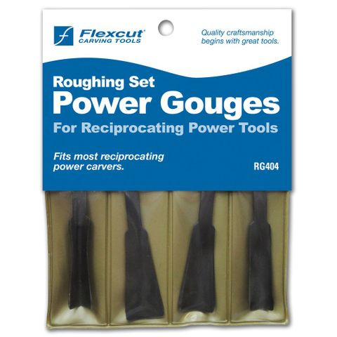 Flexcut Reciprocating Roughing Out Set