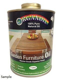 Organoil Garden Furniture Oil 1ltr