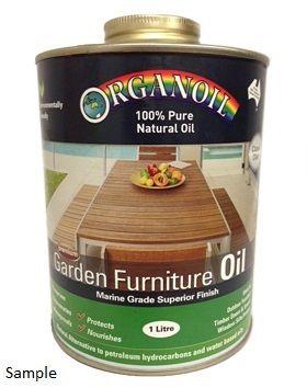 Organoil Garden Furniture Oil 1ltr Clear