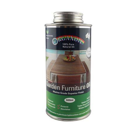 Organoil Garden Furniture Oil 500ml Clear