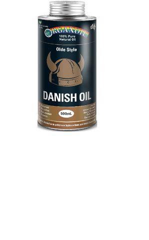 Organoil Danish Type Oil 500ml