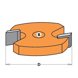 Spare cutter for Finger Joint Bit