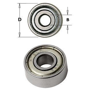 Bearing 9.5mm OD x 4.76mm ID