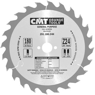 Comb Blade 180mm 24Teeth 2.6Kerf