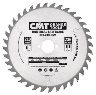 Negative Rake Blade 8-1/2in / 216mm x 48