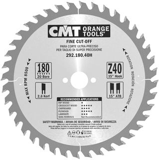 Comb Blade 180mm 40Teeth 2.6Kerf