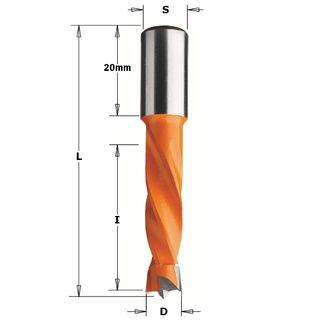 Dowel Drill LH 6mm Dia x 30mm Cut 10mm
