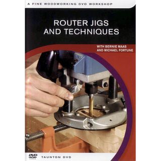 DVD - Router Jigs Bernie Maas & Mike For