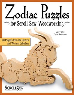 Bk-Zodiac Puzzles for Scrollsaw Woodworking