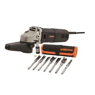 Arbortech Power Chisel with 7 chisels