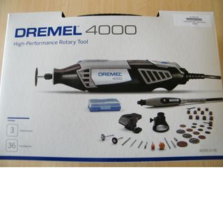 Dremel 4000 with 3 Jigs & 36pces