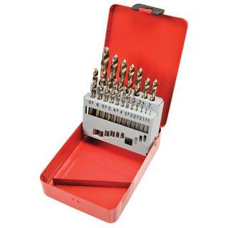 Cobalt Steel Drill Set 1-10mm x 0.5