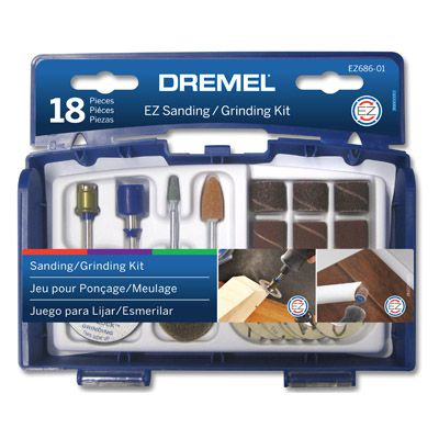 Dremel 18 Pce EZ Lock Sanding & Grinding set