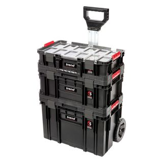 Modular Storage Compact Cart Set 3pc