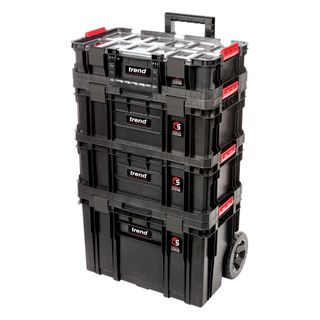 Modular Storage Compact Cart Set 4pc