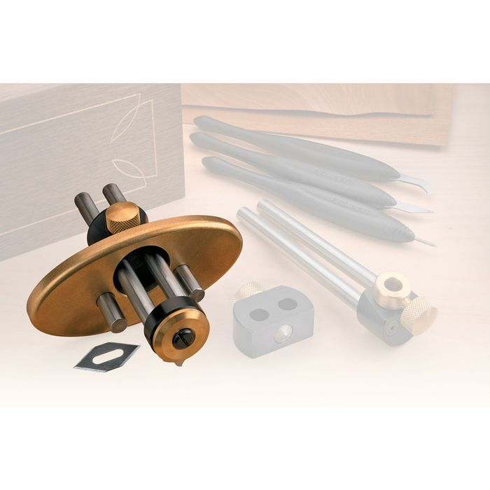 Inlay groove cutter