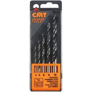 CMT 5 Piece Brad Point Drill Set