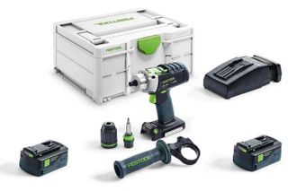 PDC18 Drill, TSC55 plunge saw, PSBC420 Jigsaw, TCL6 Charger,2x5.2 Ah Batteries