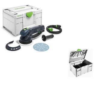 Festool Rotex RO150 FEQ-Plus Gear Driven Sander and free storage systainer