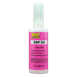 ZAP CA Thin Viscosity (2oz Bottle) Cyanoacrylate 'Super' Glue