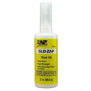 ZAP SLO-ZAP CA Thick Viscosity (2oz Bottle) Cyanoacrylate 'Super' Gl