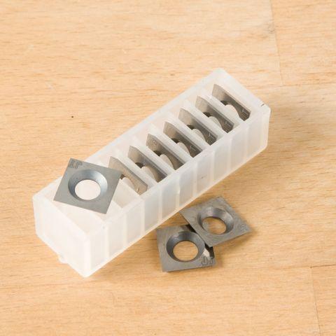 Pk 10 Replacement cutters to suit Carbatec TJ-X250C & TJ-X300C