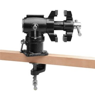 Carbatec clamp on Swivel Head Vice
