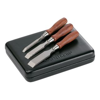 Set of three miniature chisels