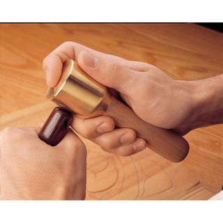 Veritas Journeyman's Brass Mallet