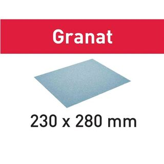 SANDPAPER SHEET 230x280 GR/50 P120