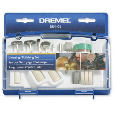 Dremel 20 pce Cleaning and Polishing Accessory Kit