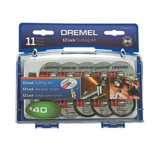 Dremel 11 pce EZ Lock Cutting Kit
