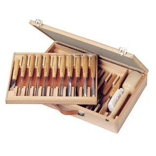 Pfeil Carving Set 25pce - Beechwood  Box