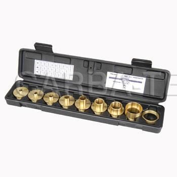 Solid Brass Router Bushing Set