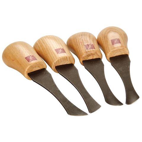 Flexcut Palm Skew Chisel Set