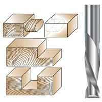 "Spiral Downcut Bits 1/4"" Solid Carbide"