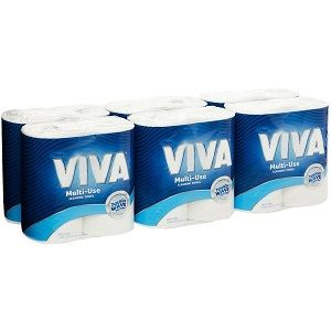 KITCHEN PAPER TOWEL KC 2PLY VIVA x 12