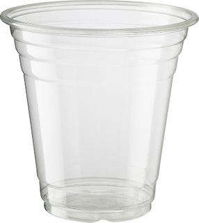 14oz PLASTIC CUP CLEAR CAWAY (400ml) x 50 (20)