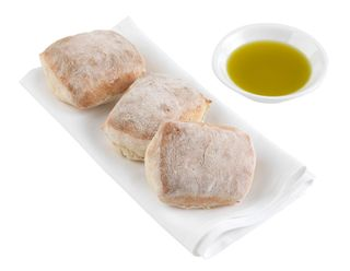 CIABATA DINNER ROLL SLIDER SBAKE (9915) 60g x160