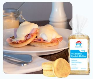 ENGLISH MUFFIN TIP TOP (9328) 36 x 400g