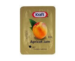 APRICOT JAM PORTION KRAFT 1x75 (4)