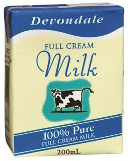 200ml UHT MILK PORTION GFREE PAULS x 24