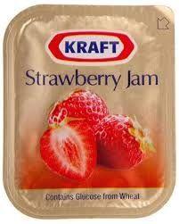 STRAWBERRY JAM PORTION KRAFT 1x75 (4)