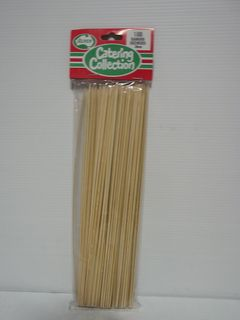 25cm x 2.5mm SKEWERS x 100 (12)
