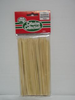 15cm x 2.5mm SKEWERS x 100 (12)