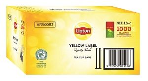 TEA CUP BAG LIPTON YELLOW LABEL x 1000