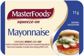 SQZ MAYONAISE M/FOOD PC x100