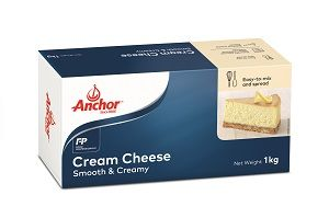 CREAM CHEESE ANCHOR GFREE x 1kg (12)