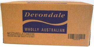 20kg MOZZARELLA BLOCK CHEESE DDALE GFREE