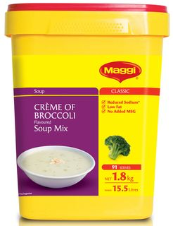 CREME BROCCOLI SOUP MIX MAGGI  x 1.8kg (6)